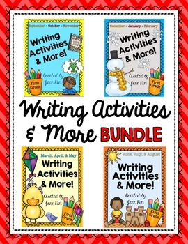 Writing Activities Through the Year BUNDLE