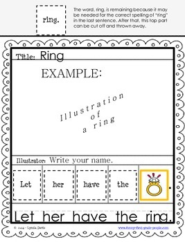 Writing Sentences Worksheets - Set 4