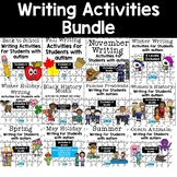 Writing Activities for Students with Autism Growing Bundle