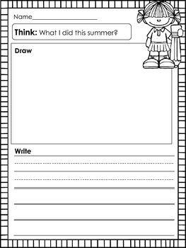 Writing Activities for Young Learners