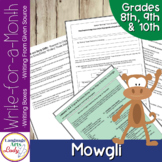 Writing Activities for a Month | Mowgli Level IV