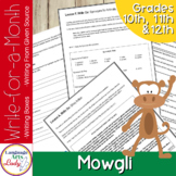 Writing Activities for a Month   Mowgli Level V