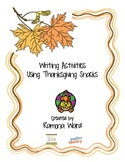 Writing Activities using Thanksgiving Snacks
