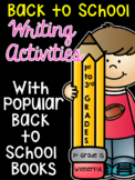 Back to School Books Writing Activities