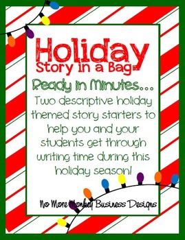 Writing Activity: Christmas Themed Story in a Bag