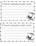 Writing Activity: If I found a Leprechaun's gold