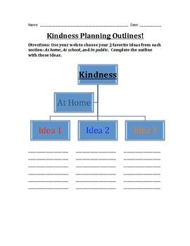 Writing Activity: Kindness Essay