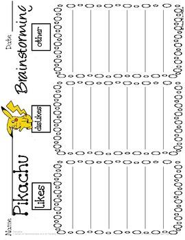 Let's Get Writing: Pokémon Pikachu