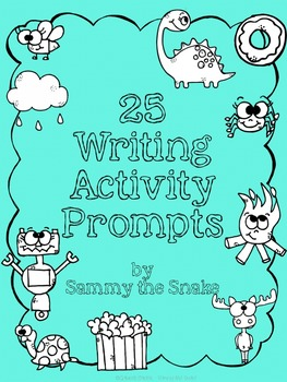 25 Writing Prompts Book