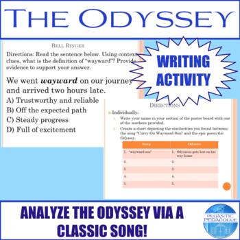Writing Activity for the Odyssey