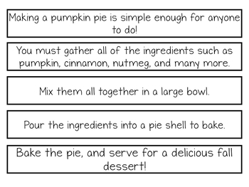 Writing Activity for the WHOLE YEAR! Paragraph Puzzlers: A GROWING Bundle!