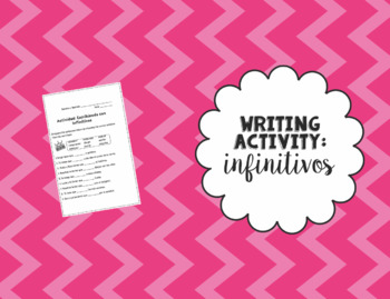 Writing Activity with Infinitives