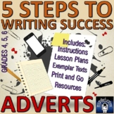 Writing Adverts: Lesson Plans, Exemplars, Resources, Poste