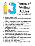 Writing Advice Poster