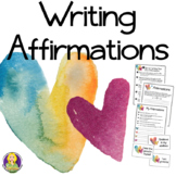 Writing Affirmations -- Positive Self Talk Lesson