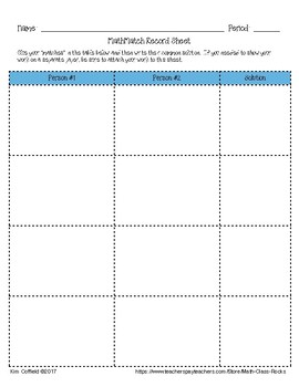 "WRITING ALGEBRAIC EXPRESSIONS - ""MATH MATCH"" CUT & PASTE ACTIVITY FREEBIE!"