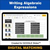Writing Algebraic Expressions - Google Slides - Distance L