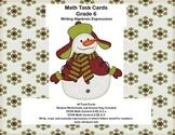 Writing Algebraic Expressions-Math Task Cards-Grade 6-CCSS