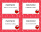 Writing Algebraic Expressions Task Cards-Christmas Owls- C
