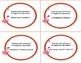 Writing Algebraic Expressions Task Cards -Funny Flamingo