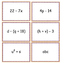 Writing Algebraic Expressions from Word Phrases 6.EE.A.1,