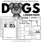 All About Dogs Writing
