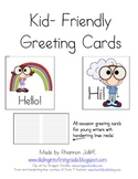 Writing- All Occasion Greeting Cards For Kids