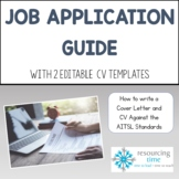 Job Application Guide with CV Templates