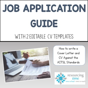 Writing An Application Against The AITSL Standards with CV