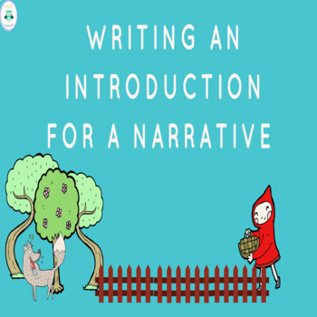 Narrative Introduction Mini Lesson
