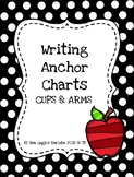 FREEBIE: Writing Anchor Chart CUPS & ARMS (Apple Theme)