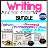 Writing Anchor Chart Posters for the Entire Year in Englis