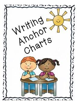 Writing Anchor Charts and Interactive Writing Charts