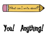 Writing Anchor Charts ( Create posters for your classroom)