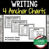 Writing Anchor Charts (English and Writing)