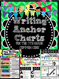 Writing Anchor Charts : Fifth Grade Common Core