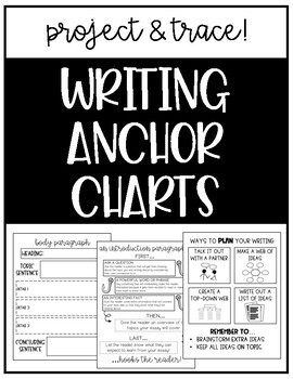 Writing Anchor Charts - Growing Pack