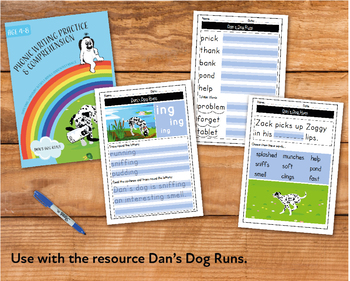 Writing And Comprehension Practice: Dan's Dog Runs (4-8 years)