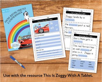 Writing And Comprehension Practice: This Is Zoggy With A Tablet (4-8 years)