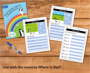 Writing And Comprehension Practice: Where Is Dan (4-8 years)