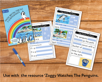 Writing And Comprehension Practice: Zoggy Watches The Penguins (4-8 years)