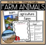 Farm Animals Writing Unit: Opinions, Narratives & Informat