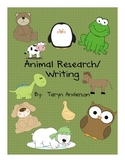Writing- Animal Research