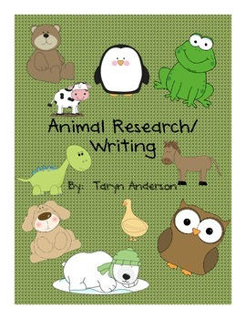 Writing- Animal Research
