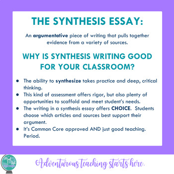 Common Core Writing Argument Prompt:  The Holiday Season Synthesis Essay