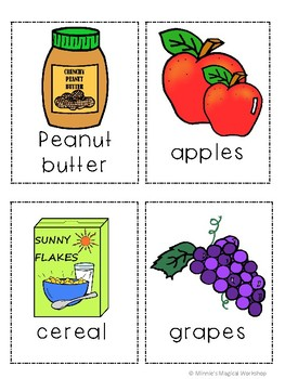 Writing Around the Room: Grocery Lists