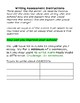 Writing Assessment - Letter to the Principal