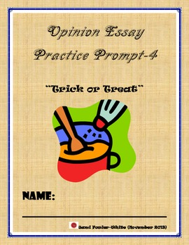 Common Core Writing Assessment-Opinions,Opinions Prompts Bundle