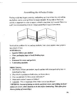 Writing Assessment Portfolio