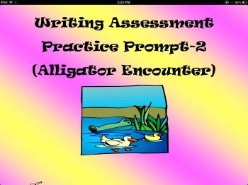 Narrative Writing Assessment Practice Prompt-2 (Alligator Encounter)